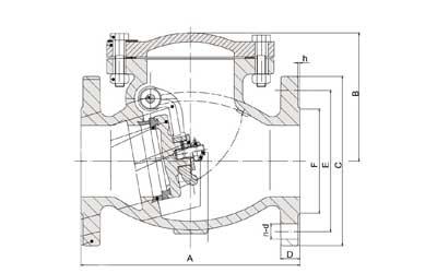 Horizontal / Vertical Cast Iron D/F Valve